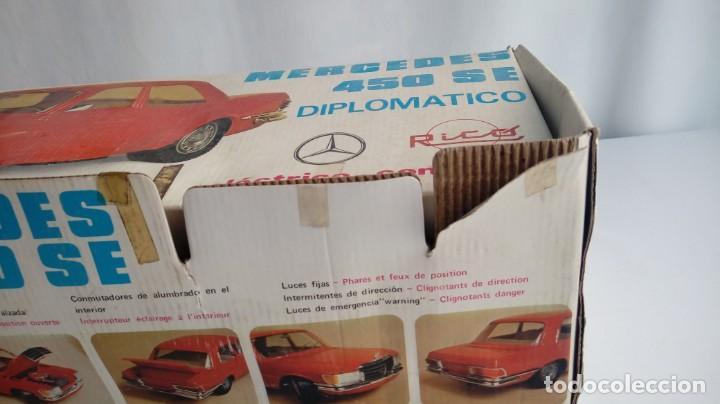 Juguetes antiguos Rico: Mercedes 450 Diplomatico Rico. - Foto 21 - 194557581