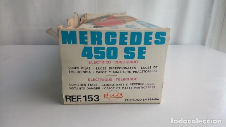 Juguetes antiguos Rico: Mercedes 450 Diplomatico Rico. - Foto 23 - 194557581