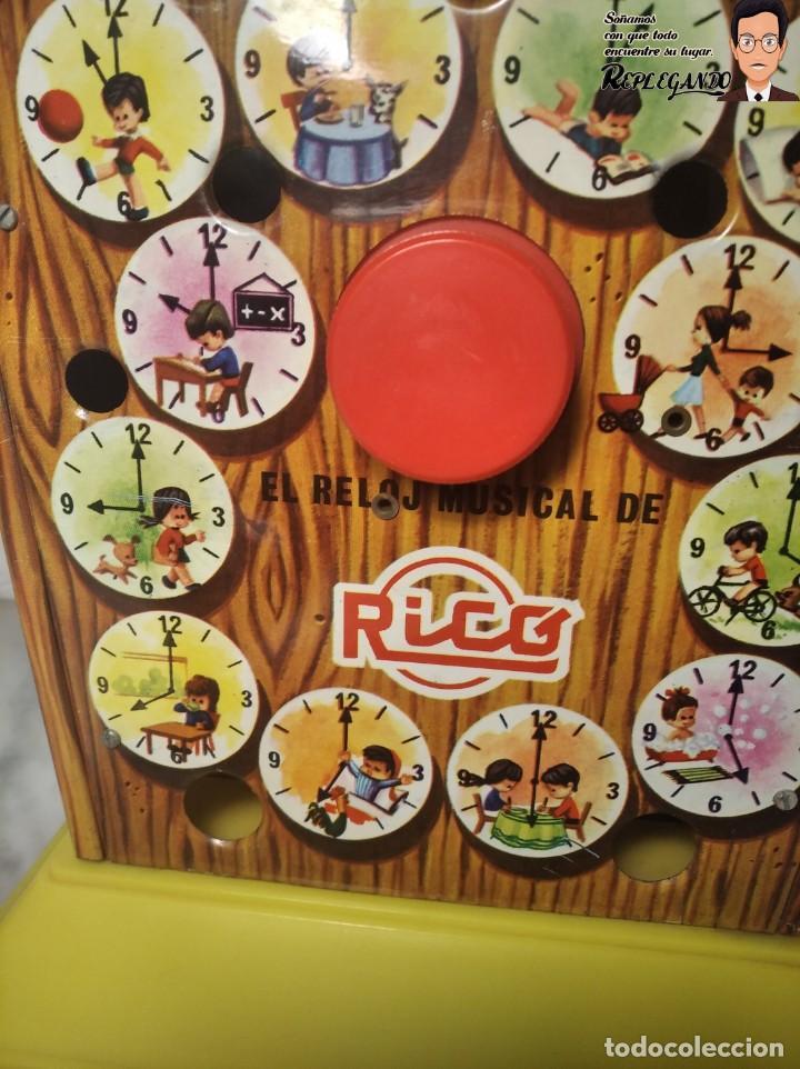 Juguetes antiguos Rico: ANTIGUA HUCHA MUSICAL RICO DE CHAPA ESMALTADA (FUNCIONA) VER VÍDEO - Foto 8 - 194571063