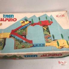 Juguetes antiguos Rico: TREN RICO ALPINO, JUGUETE ANTIGUO, TREN DE JUGUETE , TREN ALPINO. Lote 194637770