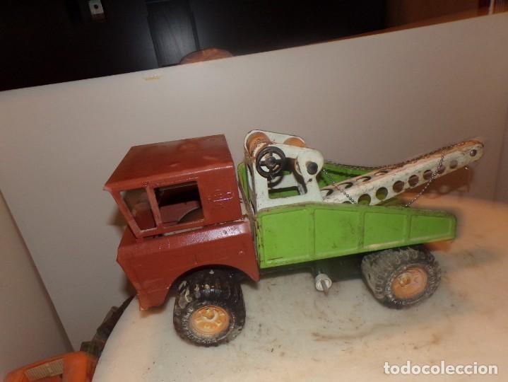 Juguetes antiguos Rico: antiguo camion rico de chapa 43cm - Foto 2 - 194774606