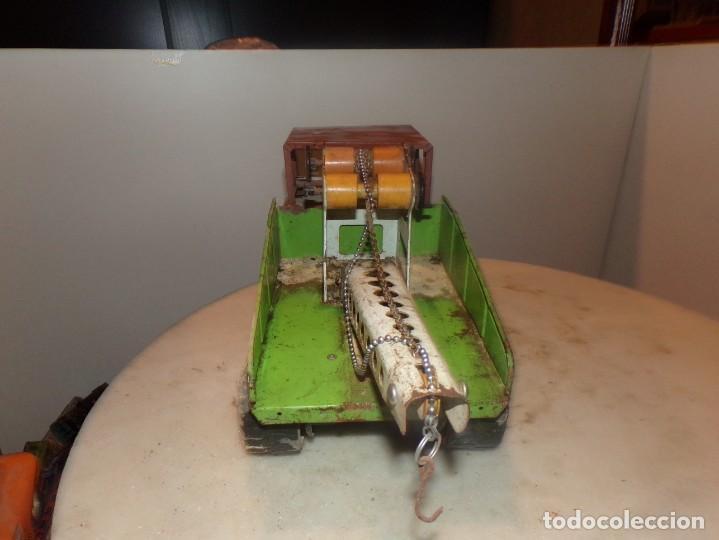 Juguetes antiguos Rico: antiguo camion rico de chapa 43cm - Foto 3 - 194774606