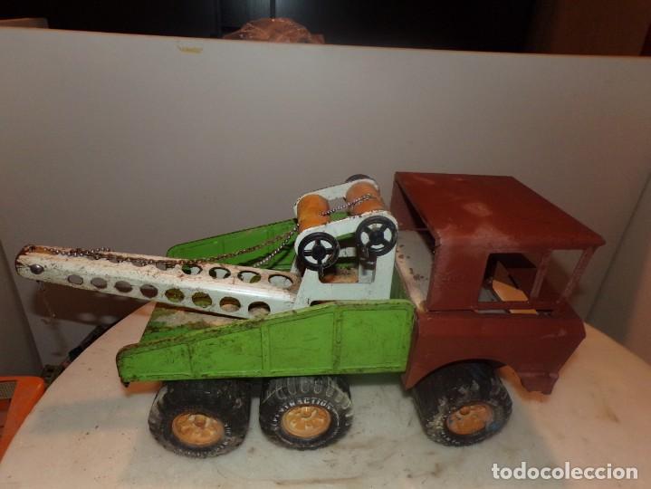 Juguetes antiguos Rico: antiguo camion rico de chapa 43cm - Foto 4 - 194774606