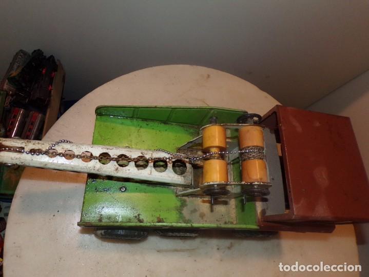 Juguetes antiguos Rico: antiguo camion rico de chapa 43cm - Foto 5 - 194774606
