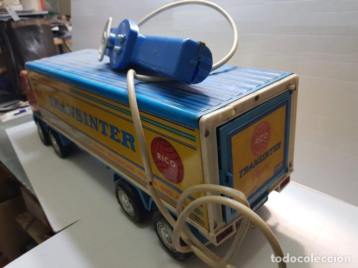 Juguetes antiguos Rico: Camión Transister Pegaso de Rico funcionando buen estado dificil - Foto 2 - 194878498
