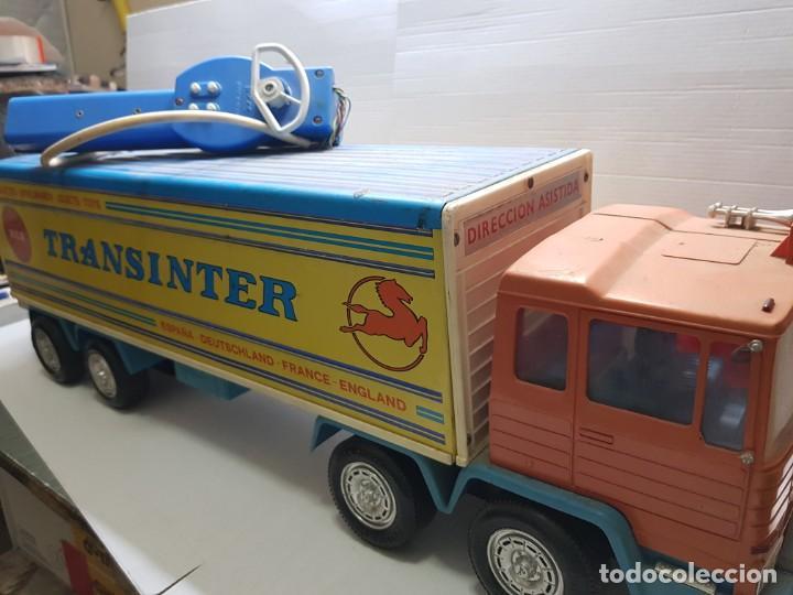 Juguetes antiguos Rico: Camión Transister Pegaso de Rico funcionando buen estado dificil - Foto 3 - 194878498
