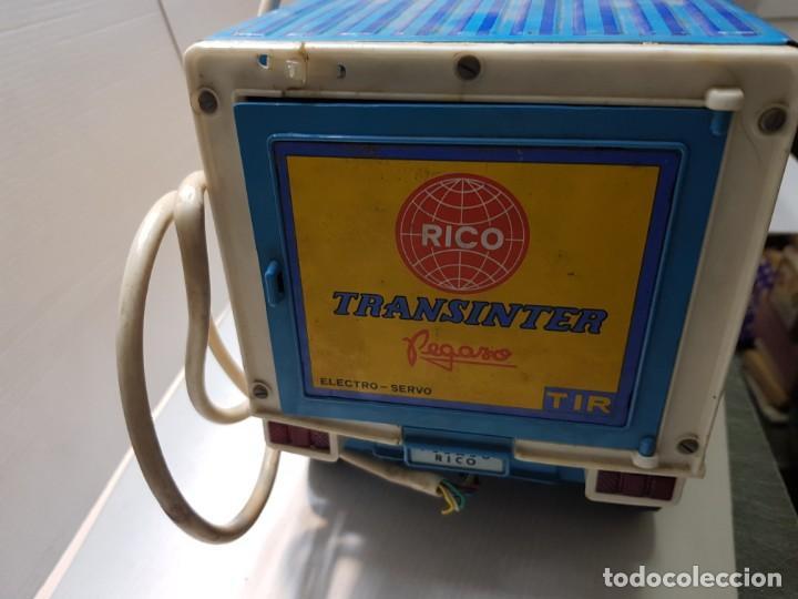 Juguetes antiguos Rico: Camión Transister Pegaso de Rico funcionando buen estado dificil - Foto 5 - 194878498