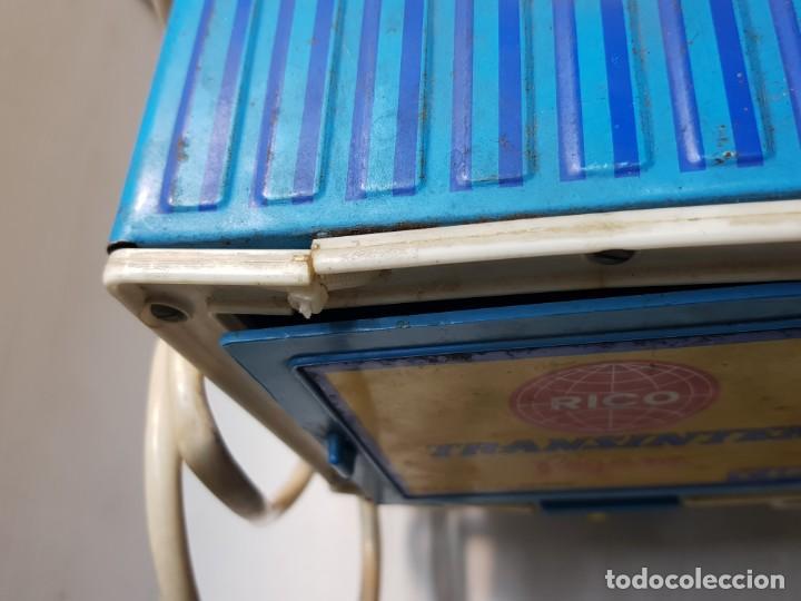 Juguetes antiguos Rico: Camión Transister Pegaso de Rico funcionando buen estado dificil - Foto 6 - 194878498