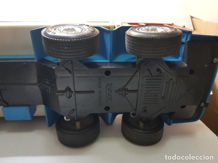 Juguetes antiguos Rico: Camión Transister Pegaso de Rico funcionando buen estado dificil - Foto 9 - 194878498