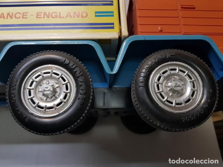 Juguetes antiguos Rico: Camión Transister Pegaso de Rico funcionando buen estado dificil - Foto 11 - 194878498