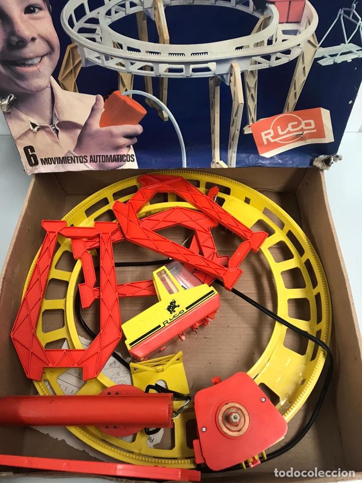 Juguetes antiguos Rico: Grúa pórtico de rico - Foto 2 - 241809830