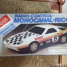 Juguetes antiguos Rico: PORSCHE 928 RADIO CONTROL. Lote 195034552
