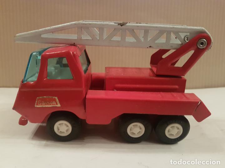 Juguetes antiguos Rico: camion con escala de rico mini sanson ver fotos - Foto 2 - 195313673