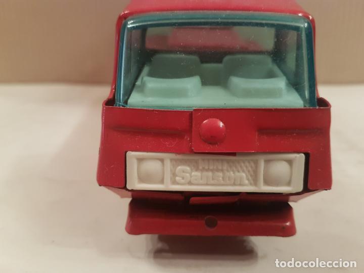 Juguetes antiguos Rico: camion con escala de rico mini sanson ver fotos - Foto 4 - 195313673