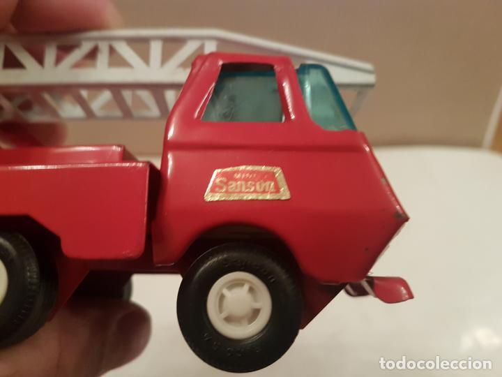 Juguetes antiguos Rico: camion con escala de rico mini sanson ver fotos - Foto 7 - 195313673