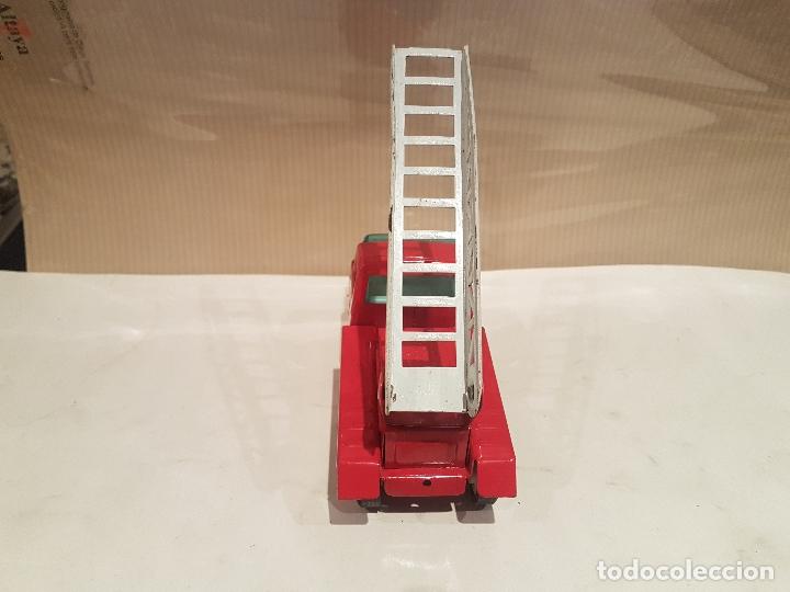 Juguetes antiguos Rico: camion con escala de rico mini sanson ver fotos - Foto 11 - 195313673