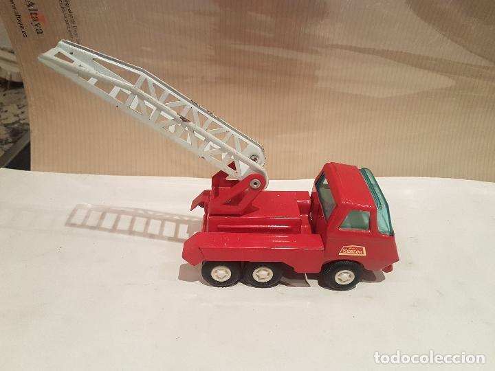 Juguetes antiguos Rico: camion con escala de rico mini sanson ver fotos - Foto 12 - 195313673