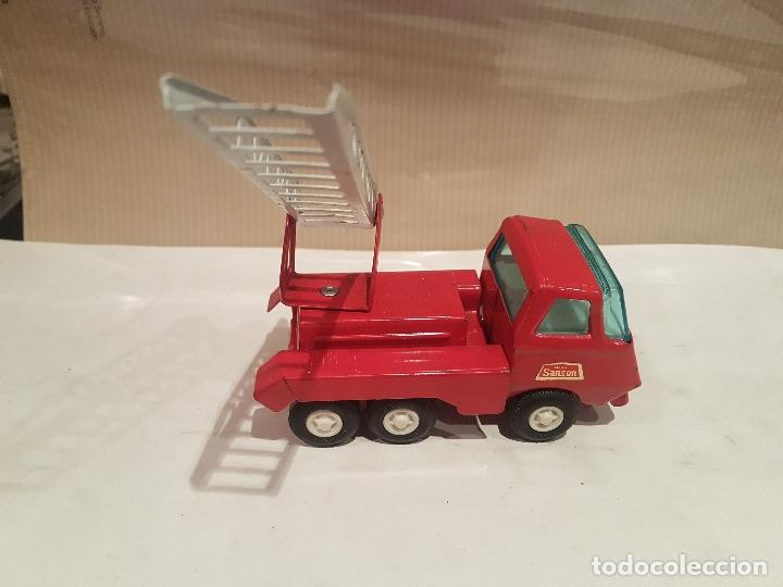 Juguetes antiguos Rico: camion con escala de rico mini sanson ver fotos - Foto 13 - 195313673