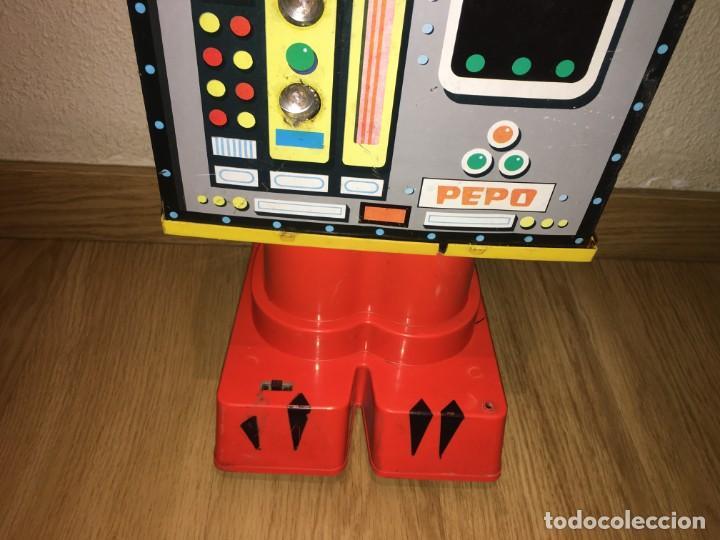 Juguetes antiguos Rico: ROBOT PEPO DE RICO - PARA PIEZAS RESTAURAR O COMPLETAR - Foto 4 - 196377455