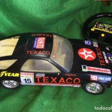 Juguetes antiguos Rico: PORSCHE TEXACO 928 TEXACO DIRECCION ASISTIDA - INCOMPLETO . Lote 196378506