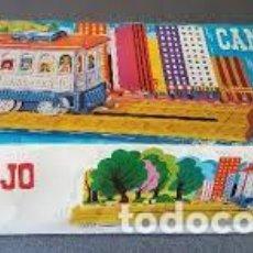 Juguetes antiguos Rico: RICO TREN CANGREJO DE JUGUETES RICO, TREN ANTIGUO, TREN DE JUGUETE, JUGUETE ANTIGUO. Lote 197126872