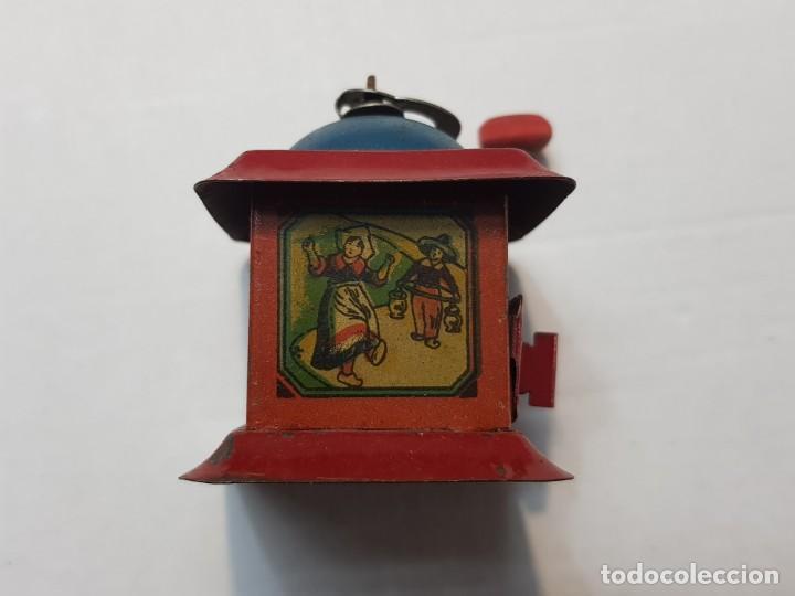 Juguetes antiguos Rico: Molinillo hojalata RSA de Rico original años 30 muy buen estado - Foto 4 - 199573416