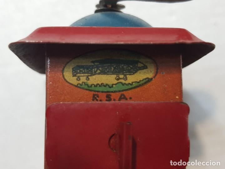 Juguetes antiguos Rico: Molinillo hojalata RSA de Rico original años 30 muy buen estado - Foto 7 - 199573416