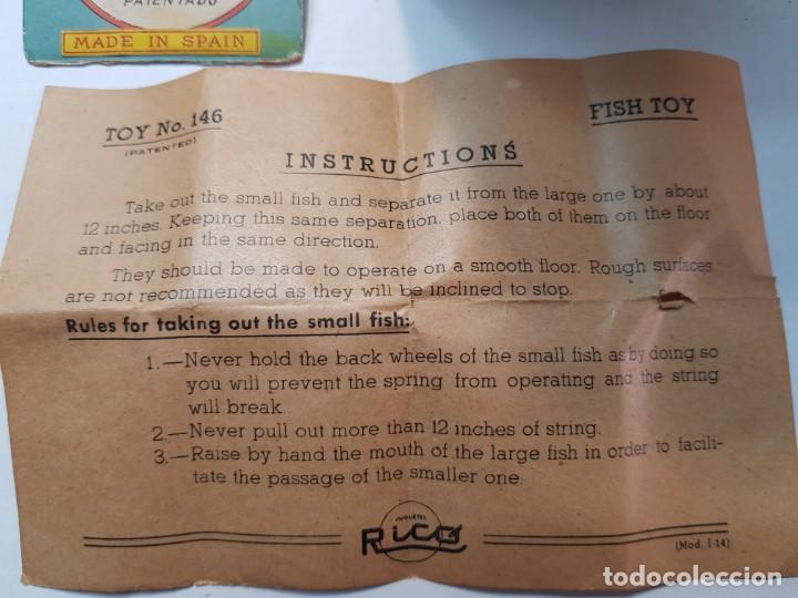 Juguetes antiguos Rico: Pez Grande se Come al Chico de Rico ref.146 en caja original y manual - Foto 8 - 199576052