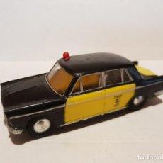Brinquedos antigos Rico: SEAT 1400 C TAXI BARCELONA MINIATURAS RICO AÑOS 60 ESCALA 1/38 . Lote 200559200