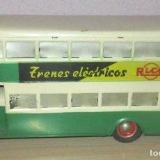 Juguetes antiguos Rico: RICO AUTOBUS HOJALATA LINE TOY Nº 1,AÑOS 40-50 FRICCION FUNCIONANDO EN MUY BUEN ESTADO. Lote 200881351