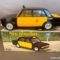 Juguetes antiguos Rico: SEAT 124 RICO TAXI BARCELONA. Lote 202521136