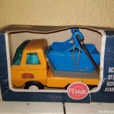 Brinquedos antigos Rico: RICO. CAMION VOLQUETE MINI SANSON. NUEVO. Lote 202866440