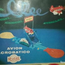 Juguetes antiguos Rico: AVION ACROBATICO RICO. Lote 202936457