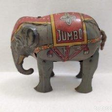Brinquedos antigos Rico: ELEFANTE JUMBO. DE RICO HOJALATA. EL MECANISMO NO FUNCIONA. 10X10CM. Lote 203137031