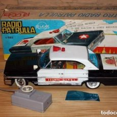 Brinquedos antigos Rico: FORD GALAXIE RADIO PATRULLA DE RICO REF. 905 AGENTE CIPOL - MAN OF U.N.C.L.E. - RESERVADO A MODUBAR. Lote 203286342