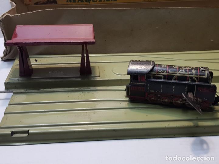 Juguetes antiguos Rico: Emblematica Máquina de Maniobras de Rico ref 173 en Caja original muy escaso - Foto 2 - 203943870