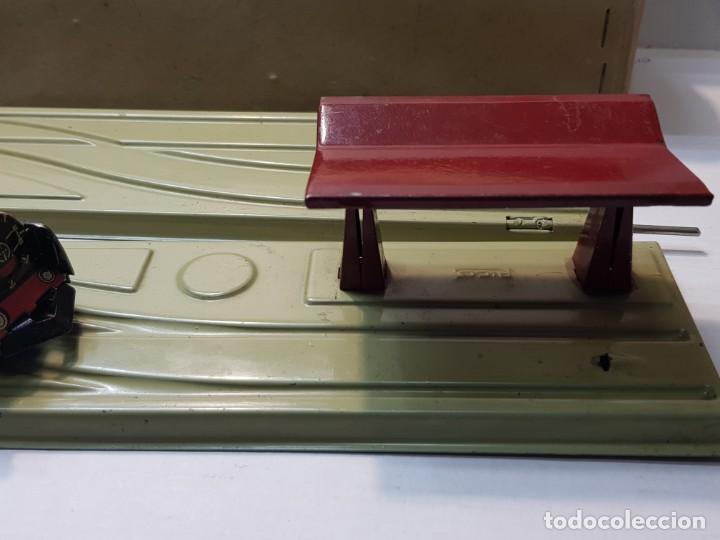 Juguetes antiguos Rico: Emblematica Máquina de Maniobras de Rico ref 173 en Caja original muy escaso - Foto 3 - 203943870