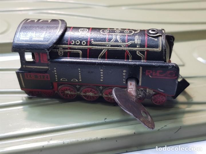 Juguetes antiguos Rico: Emblematica Máquina de Maniobras de Rico ref 173 en Caja original muy escaso - Foto 4 - 203943870