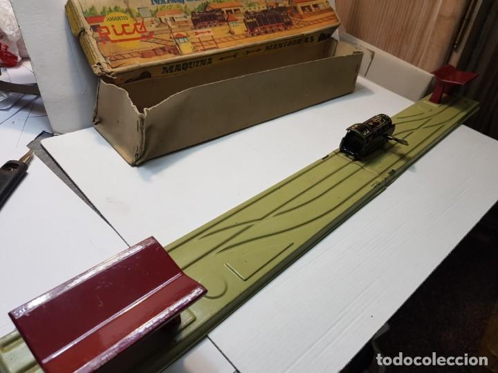 Juguetes antiguos Rico: Emblematica Máquina de Maniobras de Rico ref 173 en Caja original muy escaso - Foto 5 - 203943870