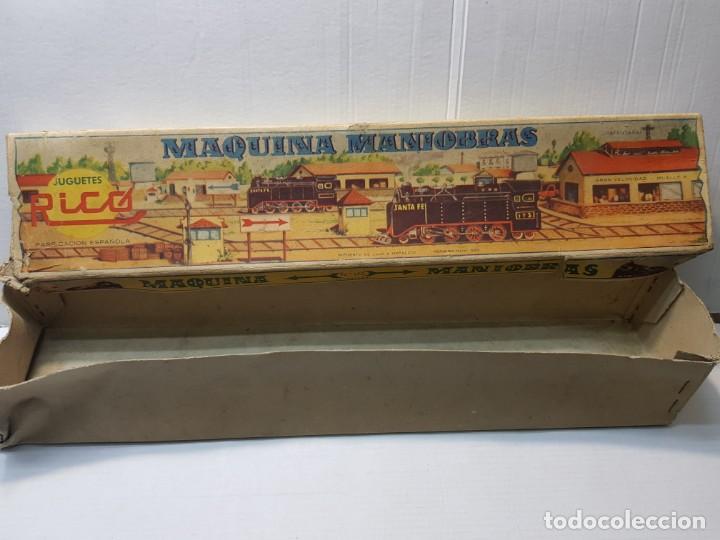 Juguetes antiguos Rico: Emblematica Máquina de Maniobras de Rico ref 173 en Caja original muy escaso - Foto 6 - 203943870