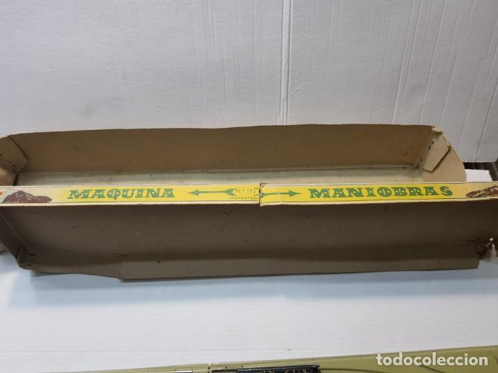 Juguetes antiguos Rico: Emblematica Máquina de Maniobras de Rico ref 173 en Caja original muy escaso - Foto 7 - 203943870