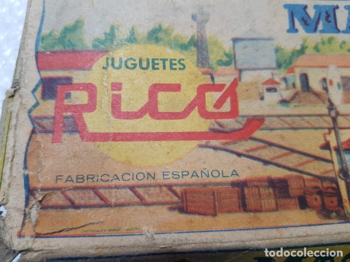 Juguetes antiguos Rico: Emblematica Máquina de Maniobras de Rico ref 173 en Caja original muy escaso - Foto 8 - 203943870