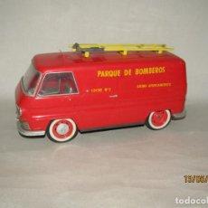 Brinquedos antigos Rico: ANTIGUA DKW AUTO UNION F-1000-L BOMBEROS EXCMO. AYUNTAMIENTO A FRICCIÓN DE JUGUETES RICO. Lote 204199878