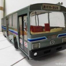 Giocattoli antichi Rico: ANTIGUO AUTOBÚS MERCEDES BENZ RICO CABLEDIRIGIDO RICO-BUS - ORIGINAL AÑOS 70.VER FOTOS. Lote 204255787