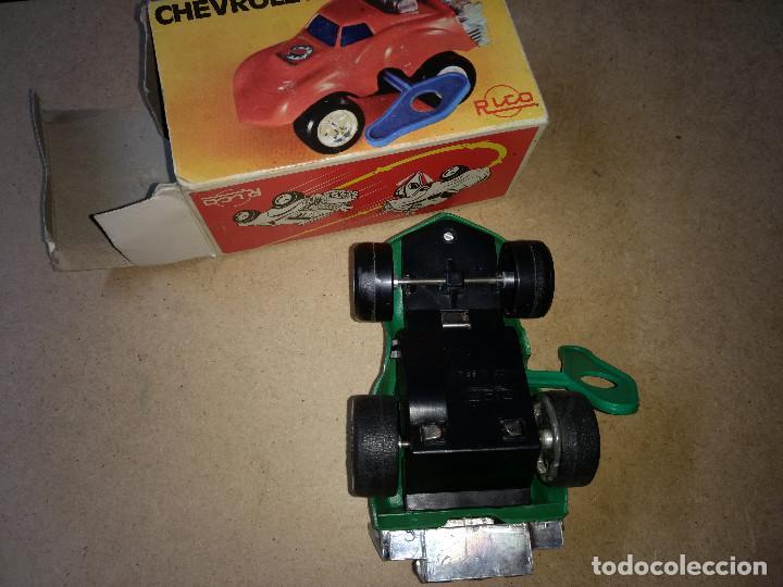 Juguetes antiguos Rico: coche RICO - CHEVROLET CON RESORTE con su caja original y llave de cuerda años 70-80 - Foto 4 - 204526321
