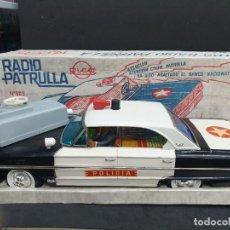 Juguetes antiguos Rico: COCHE POLICÍA RADIO PATRULLA RICO AÑOS 60 N°905. Lote 204982175