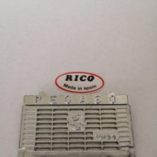 Juguetes antiguos Rico: RICO, (ORIGINAL) FRONTAL PARRILLA RADIADOR PEGASO TRANSISTER RICO.. Lote 205243057