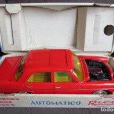 Juguetes antiguos Rico: MERCEDES 250 S AUTOMATICO SALVAOBSTACULOS - RICO - CON CAJA ORIGINAL. Lote 205550808