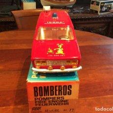 Juguetes antiguos Rico: RICO SEAT 1430 BOMBEROS FRICCION,COMO NUEVO,C/CAJA, RARO Y. OMPLETO - FLA. Lote 205817360