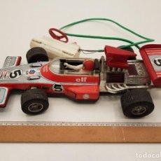Brinquedos antigos Rico: COCHE CARRERAS RICO HOJALATA, TELE DIRIGIDO, AÑOS 70, (40X18). Lote 208873735